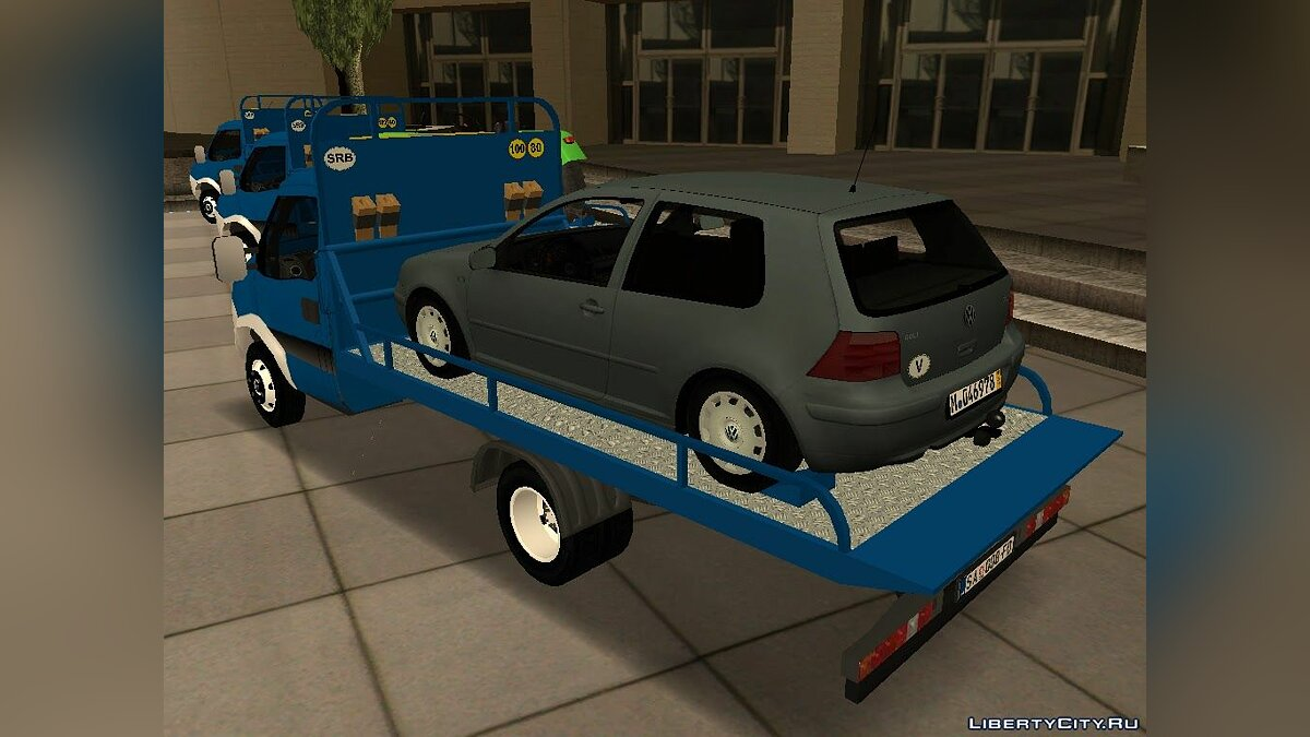 ��ашина Iveco Iveco Daily Mk4 Transporter для GTA San Andreas