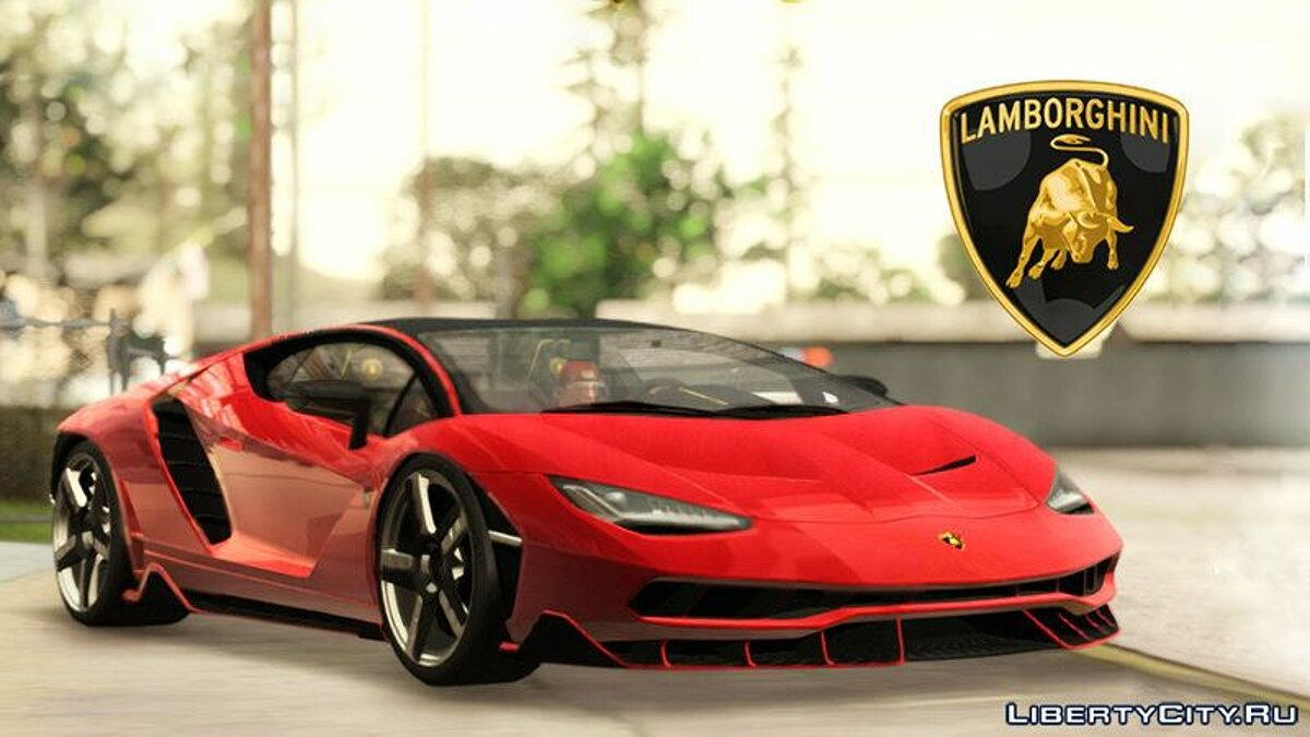 ��ашина Lamborghini Lamborghini Centenario LP770-4 Full Featured для GTA San Andreas