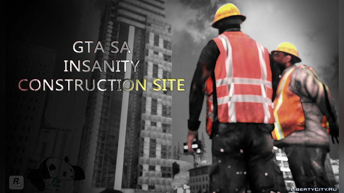 ��овий острів INSANITY Construction Site для GTA San Andreas