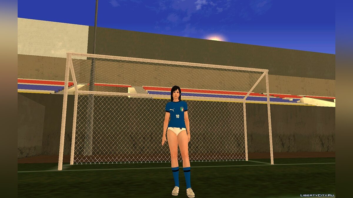 Новий персонаж Kokoro Italy National Football Team для GTA San Andreas