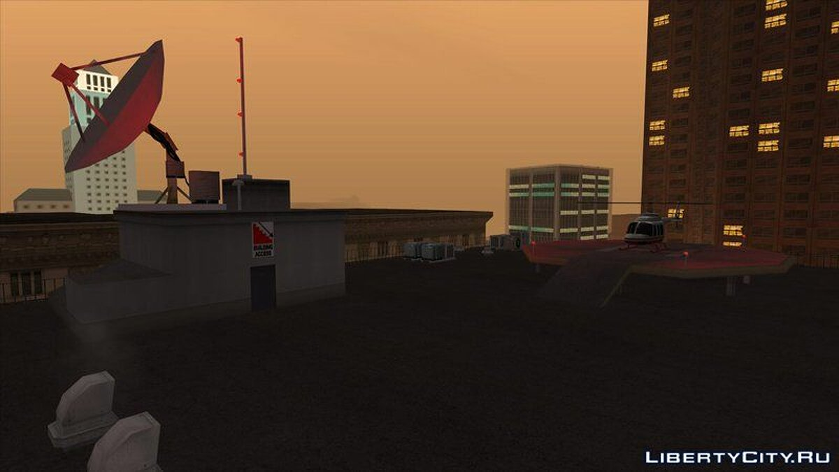 Новий об'єкт LS Property Pack для GTA San Andreas