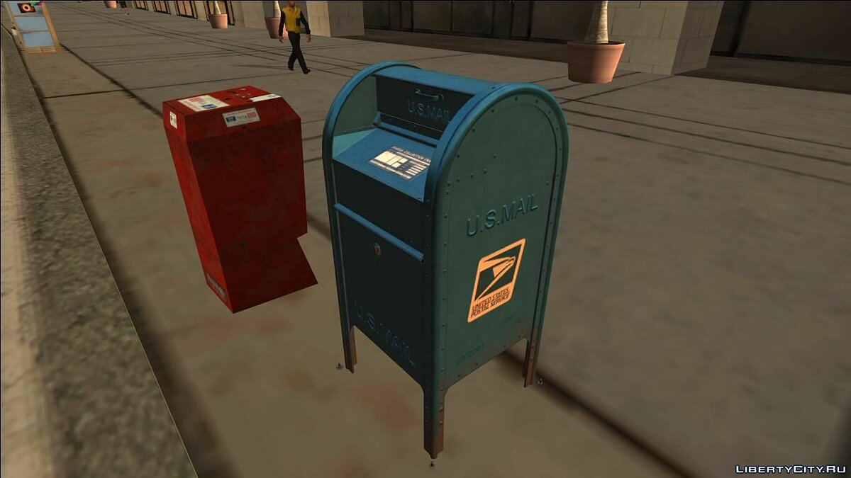 ��овий об'єкт 4K Postbox (Normal Map) для GTA San Andreas