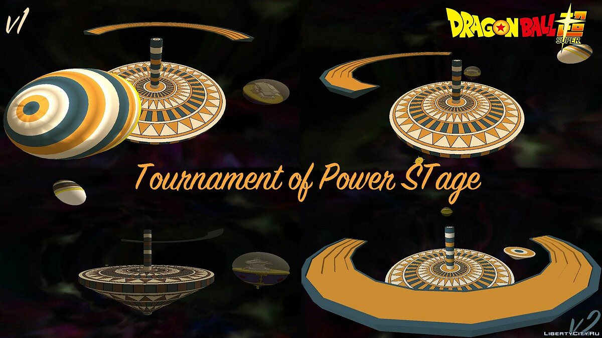 ��овий об'єкт Tournament of Power Stage - Dragon Ball Super для GTA San Andreas
