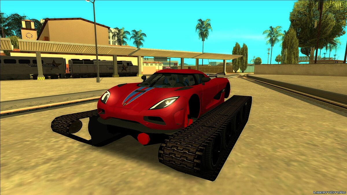 Agera Offroad Edition для GTA San Andreas - Картинка #1