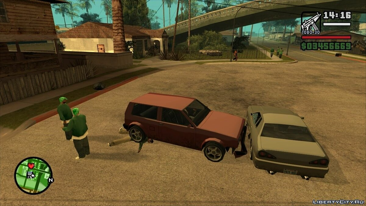 Патч SilentPatch v1.1 Build 29 для GTA San Andreas