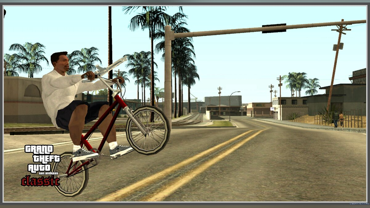GTA SA Classic v1.0 - PC атмосфера гри в GTA SA Mobile для GTA San Andreas (iOS, Android) - Картинка #3