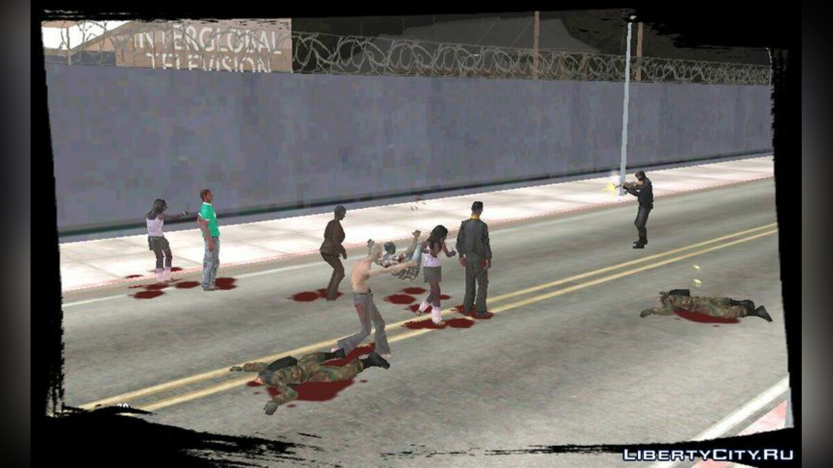 Zombie Mod for Android v1.5 для GTA San Andreas (iOS, Android) - скріншот #3