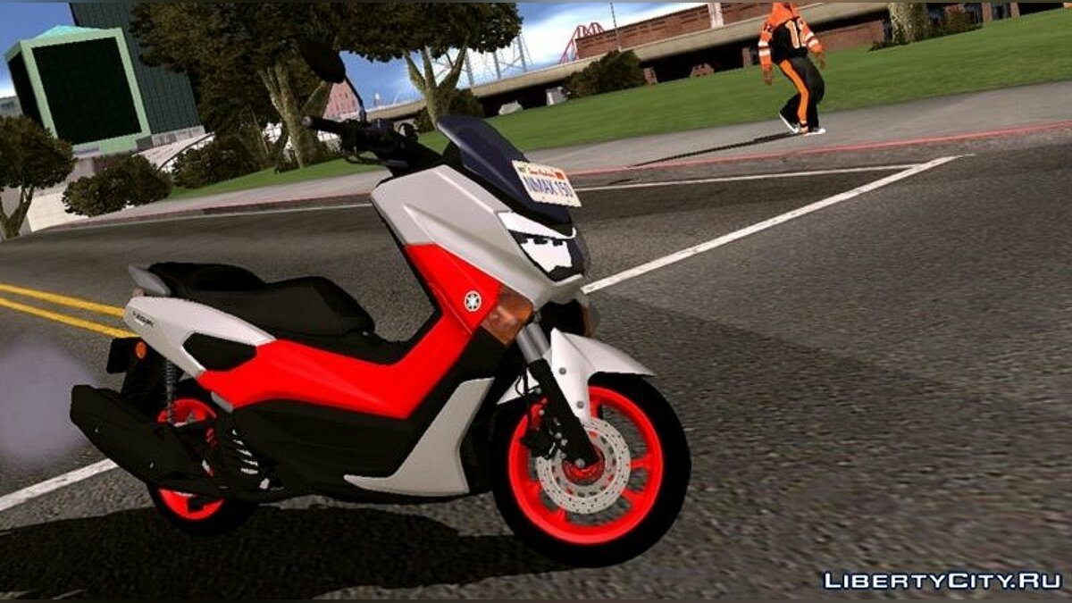 Мотоцикл Yamaha NMAX 155 2018 для GTA San Andreas (iOS, Android)