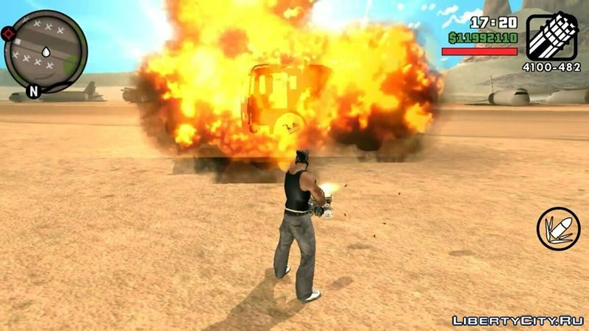 GTA V Effects For Android для GTA San Andreas (iOS, Android) - Картинка #1