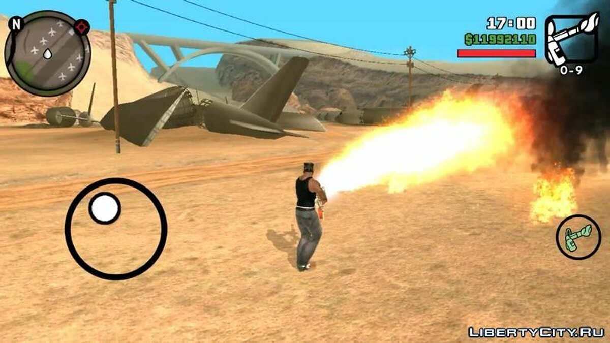 GTA V Effects For Android для GTA San Andreas (iOS, Android) - Картинка #4