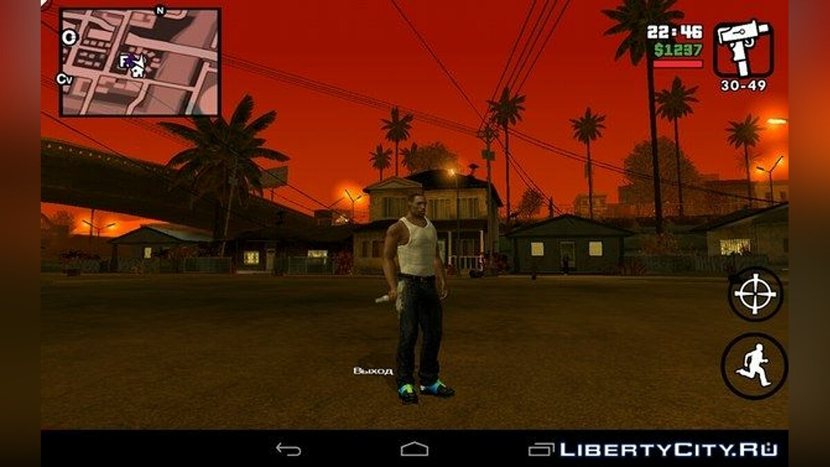 ��овий персонаж CJ 2015 for Android / iOS для GTA San Andreas (iOS, Android)