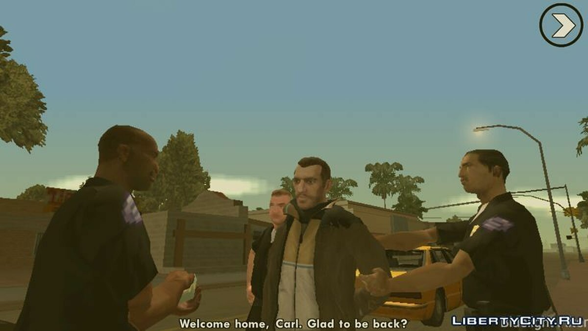 Niko Bellic Skin для GTA San Andreas (iOS, Android) - скріншот #3