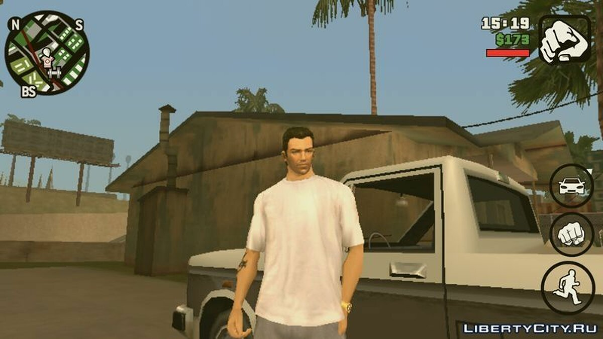 Tommy Vercetti для GTA San Andreas (iOS, Android) - скріншот #2