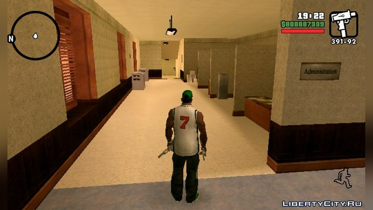 Hospital Interior Mod for Android для GTA San Andreas (iOS, Android) - скріншот #3