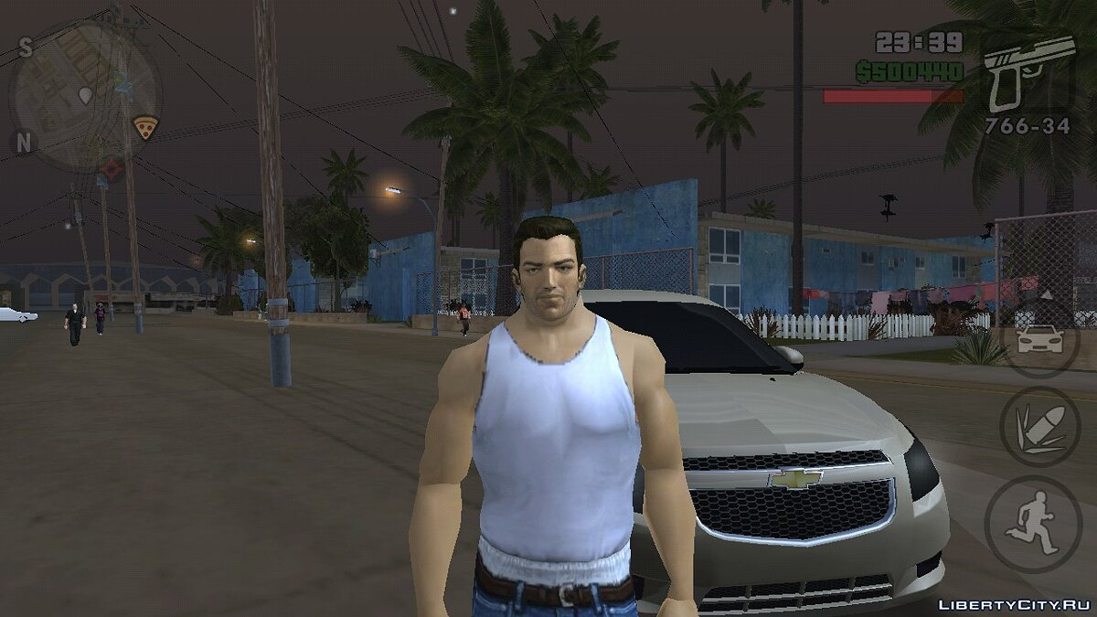 Tommy Vercetti (Vice City) (iOs, Android) для GTA San Andreas (iOS, Android) - Картинка #1