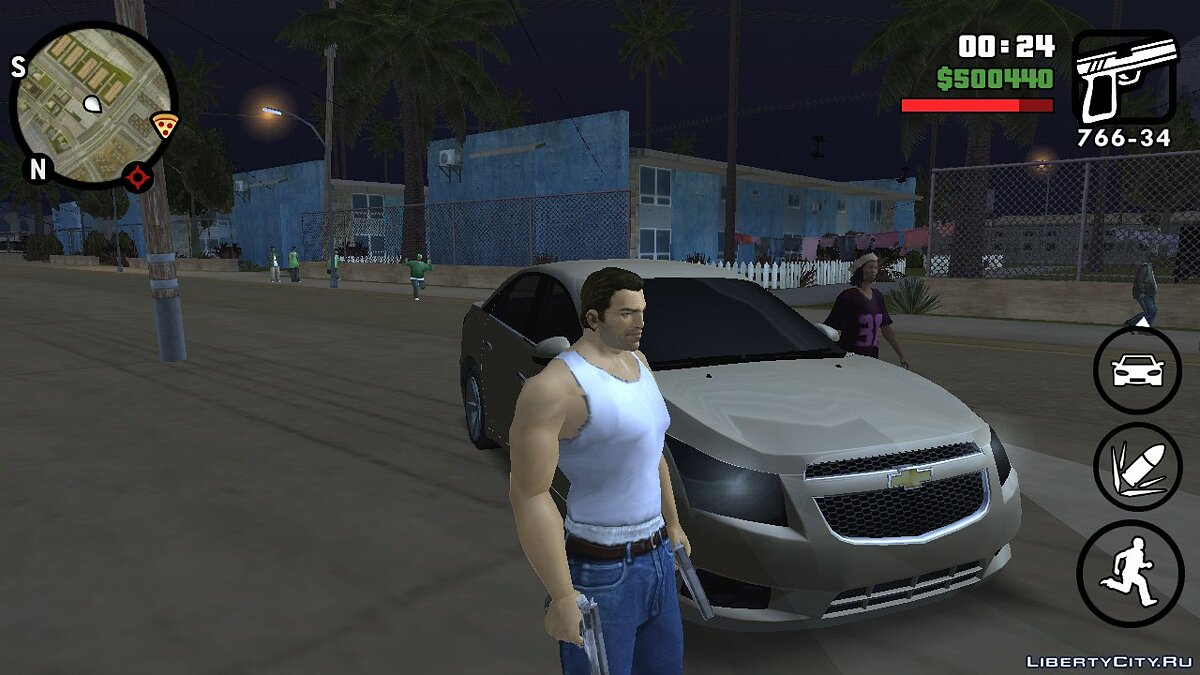 Tommy Vercetti (Vice City) (iOs, Android) для GTA San Andreas (iOS, Android) - Картинка #2