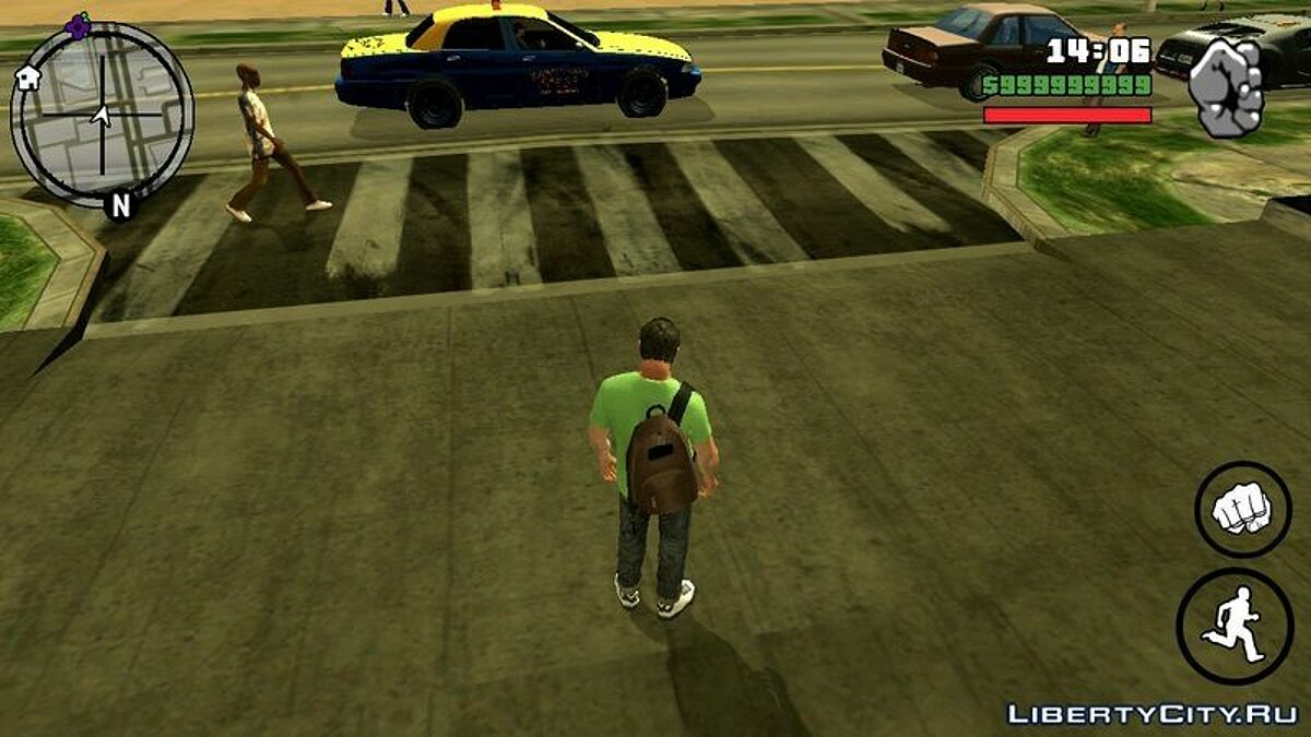 GTA V Texture Mod for Android для GTA San Andreas (iOS, Android) - Картинка #2