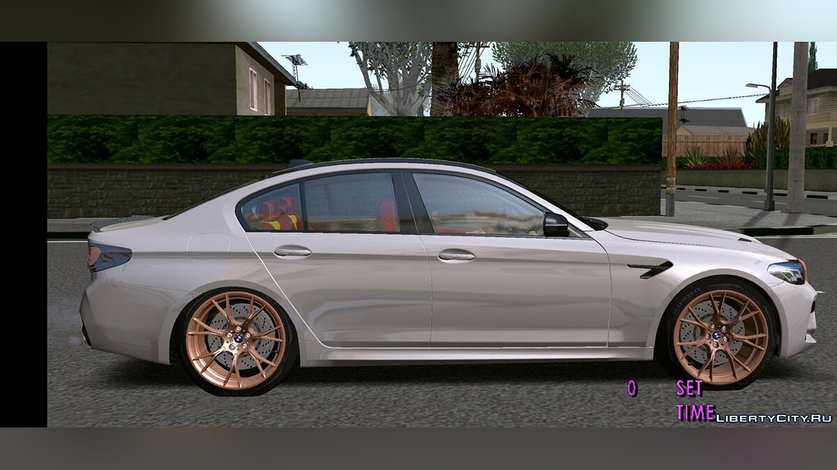 Машина 2021 BMW M5cs F90 для GTA San Andreas (iOS, Android)