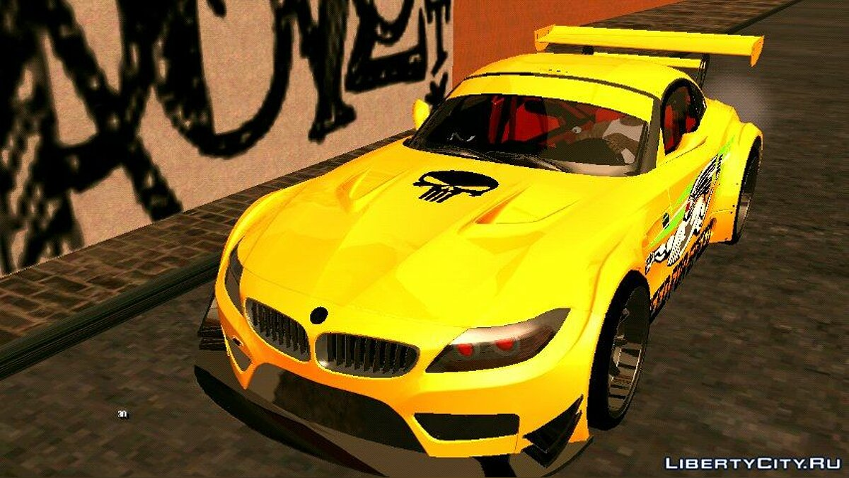 BMW Z4 GTR для GTA San Andreas (iOS, Android)