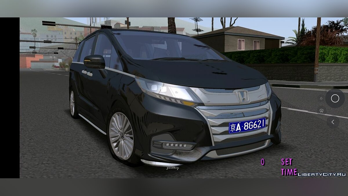 Машина 2 021 Honda Odyssey для GTA San Andreas (iOS, Android)