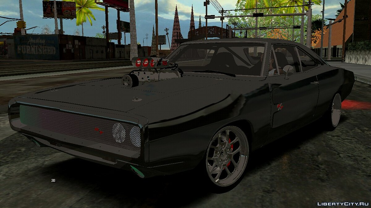 Dodge Charger RT (Форсаж 7) для GTA San Andreas (iOS, Android) - Картинка #1