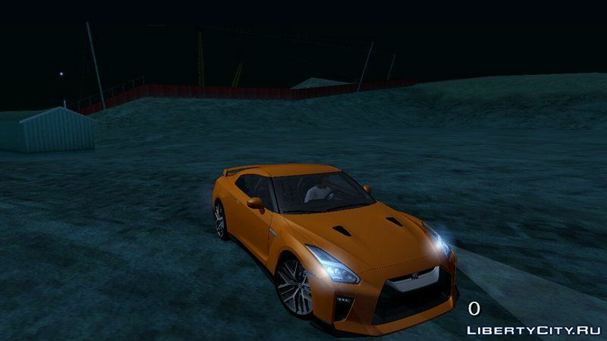Nissan GTR Premium 2017 для GTA San Andreas (iOS, Android)