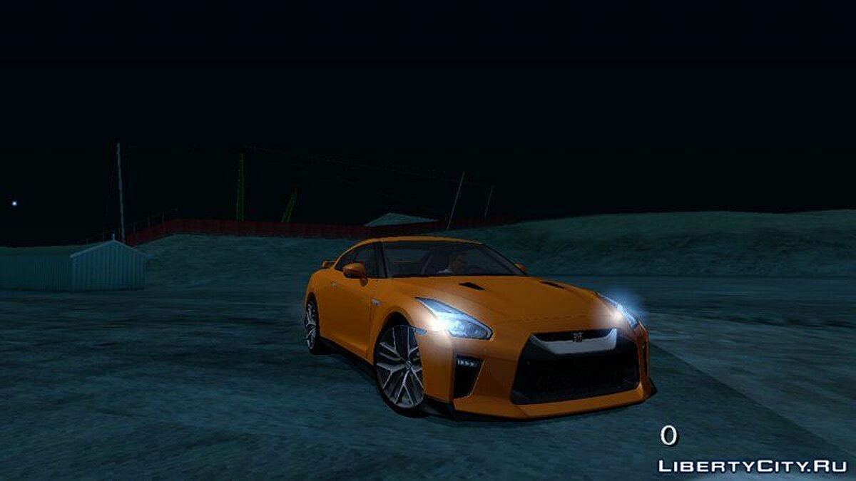 Nissan GTR Premium 2017 для GTA San Andreas (iOS, Android) - скріншот #3