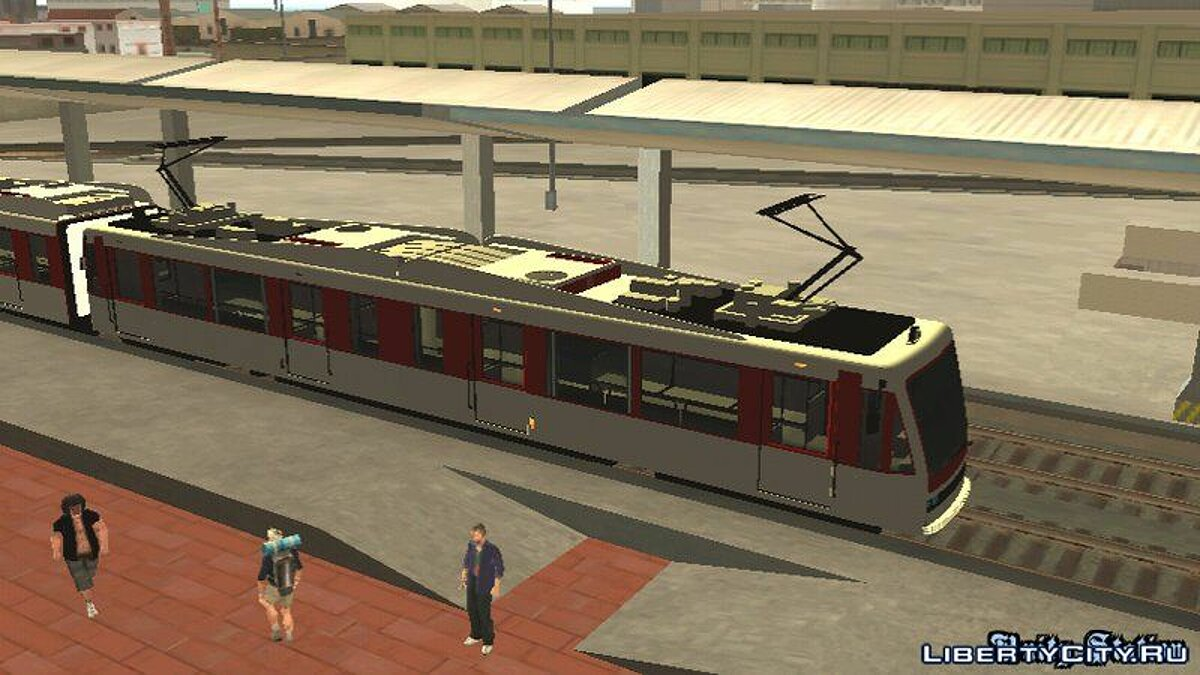 Текстура машини GTA V Transit Train Dff Only For Android для GTA San Andreas (iOS, Android)