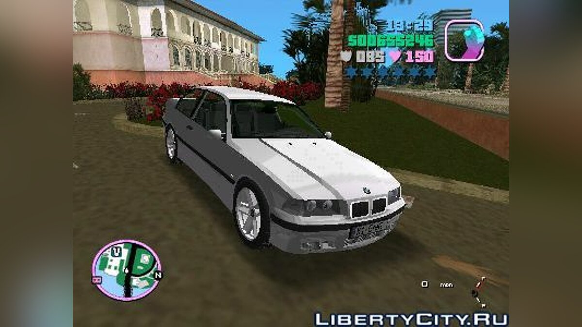 BMW E36 Coupe для GTA Vice City - Картинка #1