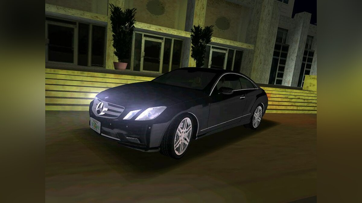 Mercedes Benz E Class Coupe C207 для GTA Vice City - Картинка #1
