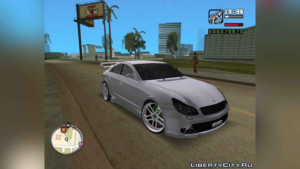 Mercedes CLS500 Tuning для GTA Vice City - Картинка #1
