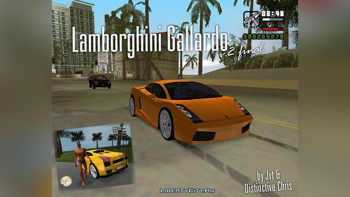 Lamborghini Gallardo v.2 Final для GTA Vice City - Картинка #1