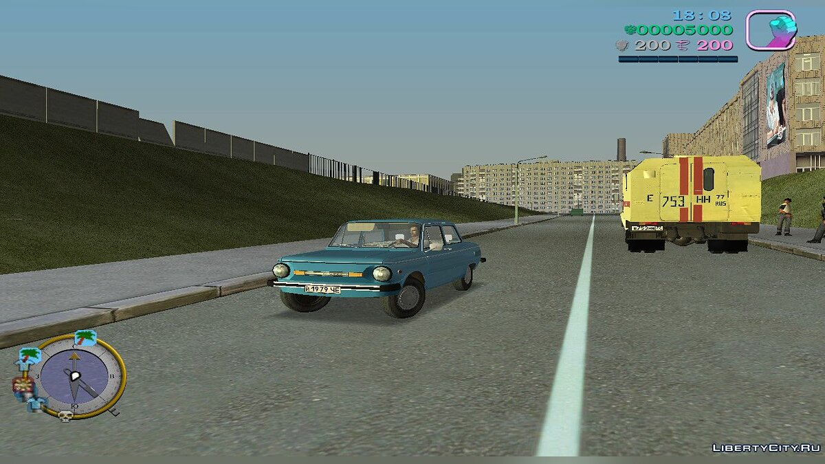 ��айл Cовеетскій шрифт (fonts.txd) і hud з Gta vice city Made in USSR для Gta Vice City для GTA Vice City