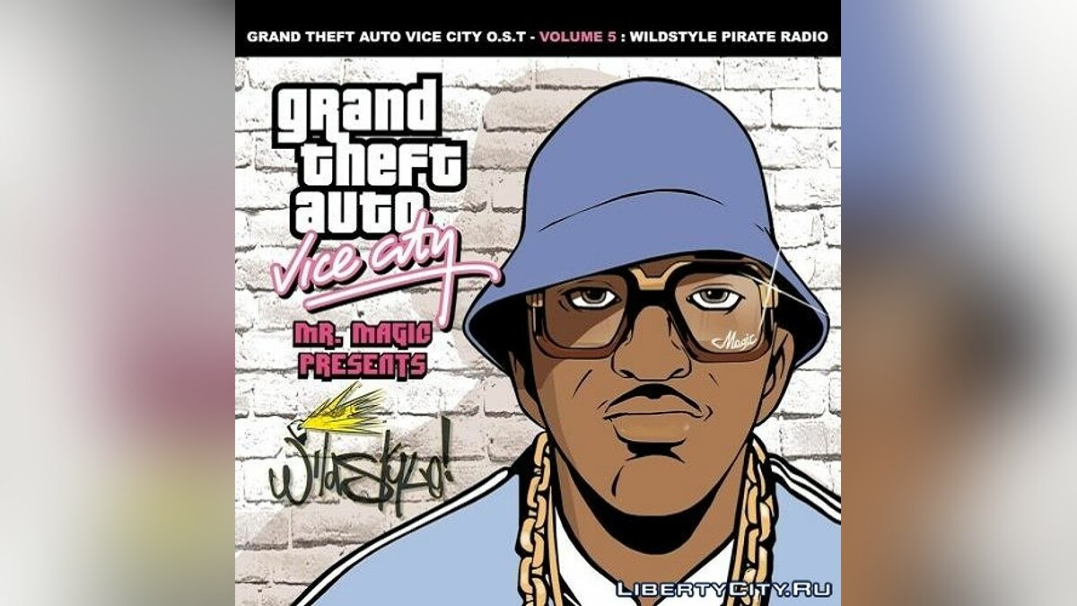 ��айл Wildstyle Pirate Radio для GTA Vice City