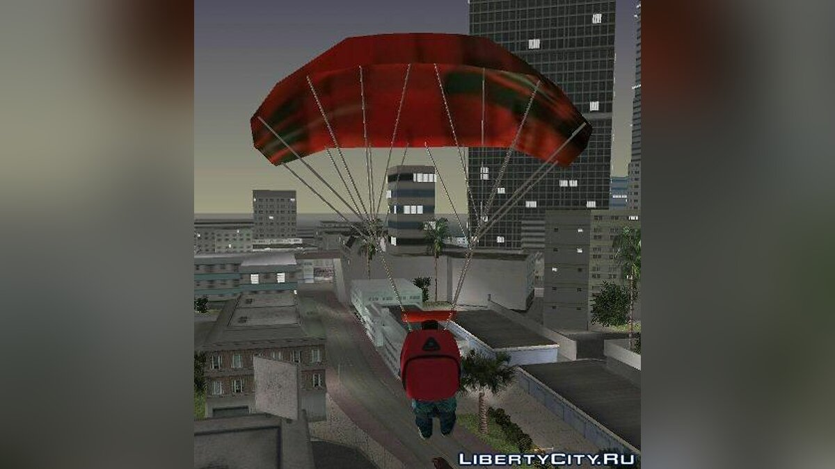 San Andreas Parachute для GTA Vice City - Картинка #1