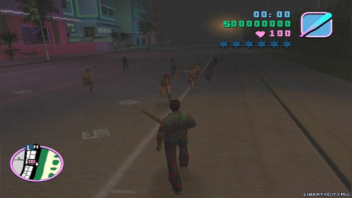 Мод Проклята GTA Vice City для GTA Vice City