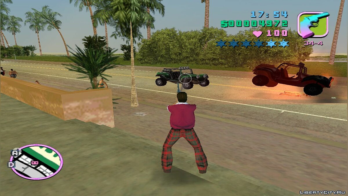��криптова мод Fast Reload для GTA Vice City