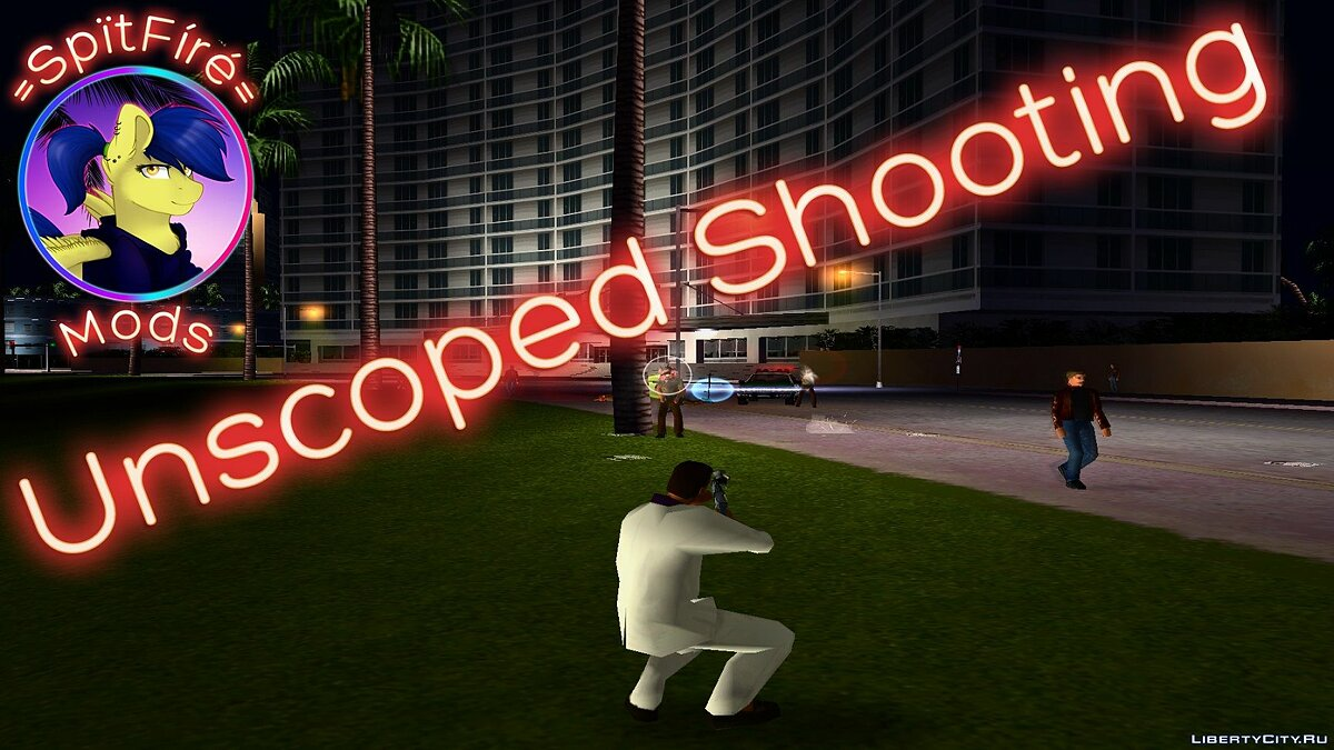 ��криптова мод Unscope Shooting для GTA Vice City