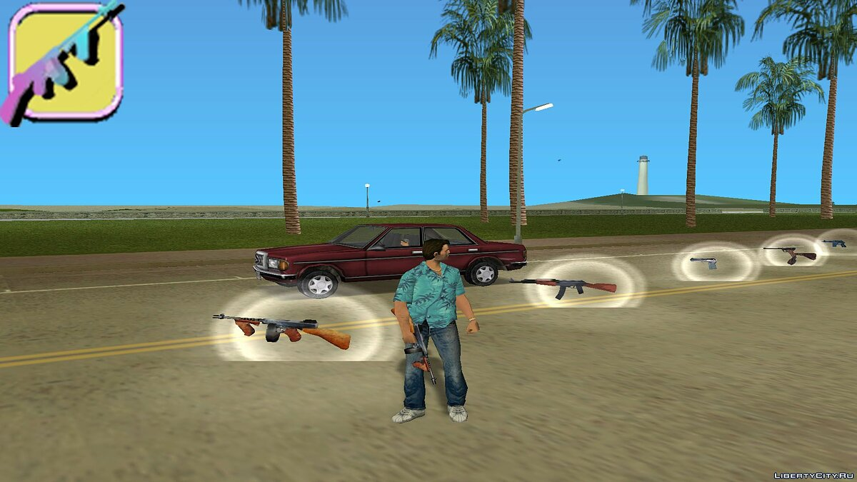Збройовий мод [MVL] AnriTool weapon pack для GTA Vice City