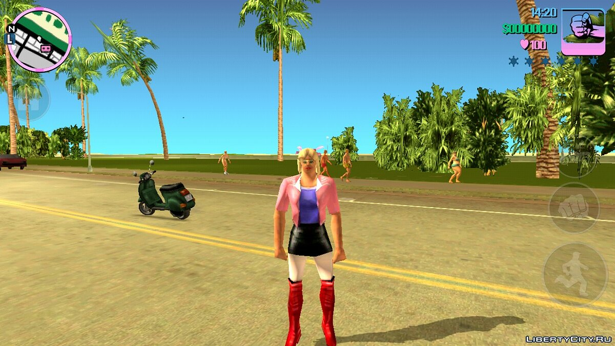 Skin Selector для GTA Vice City (Android) для GTA Vice City (iOS, Android) - Картинка #3