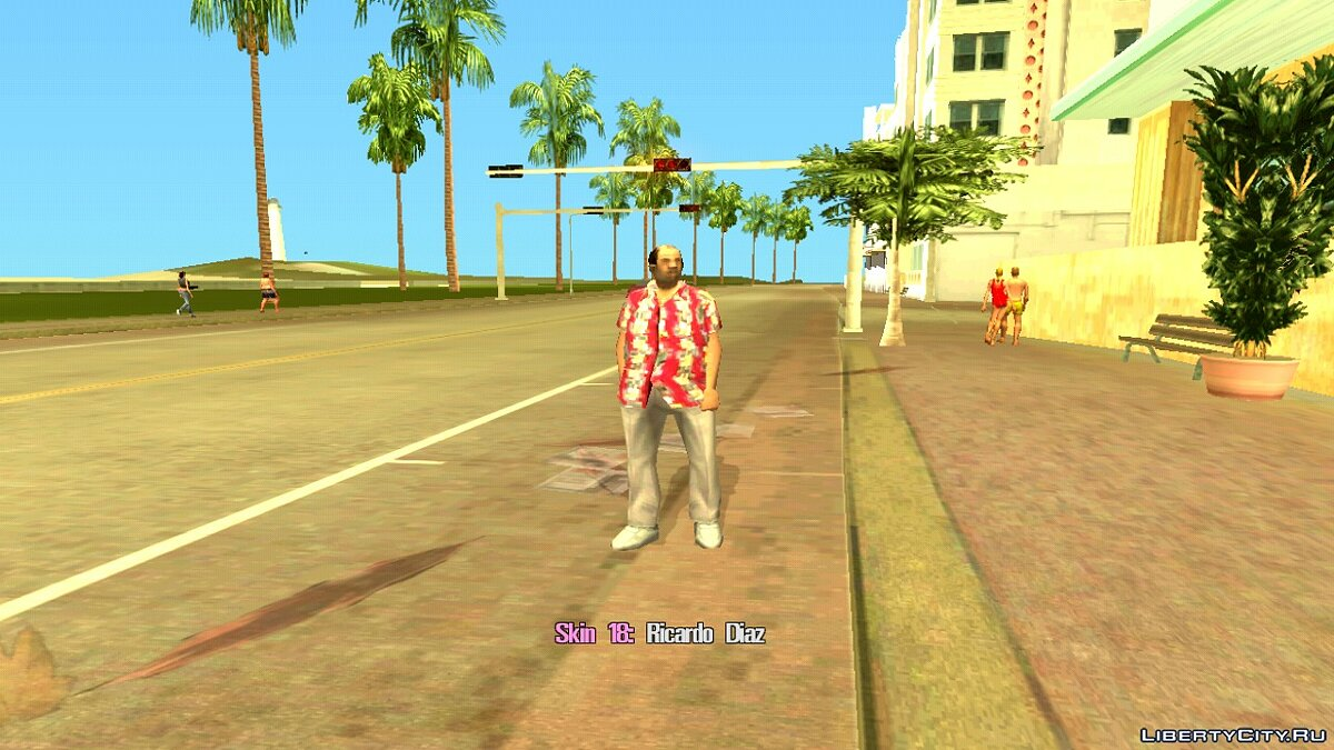 Skin Selector для GTA Vice City (Android) для GTA Vice City (iOS, Android) - Картинка #5