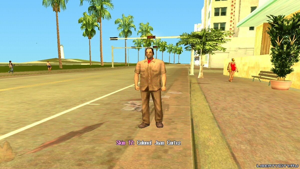 Skin Selector для GTA Vice City (Android) для GTA Vice City (iOS, Android) - Картинка #6