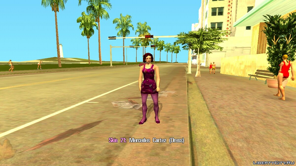 Skin Selector для GTA Vice City (Android) для GTA Vice City (iOS, Android) - Картинка #7