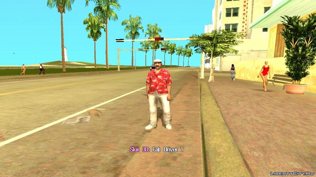 Skin Selector для GTA Vice City (Android) для GTA Vice City (iOS, Android) - Картинка #8
