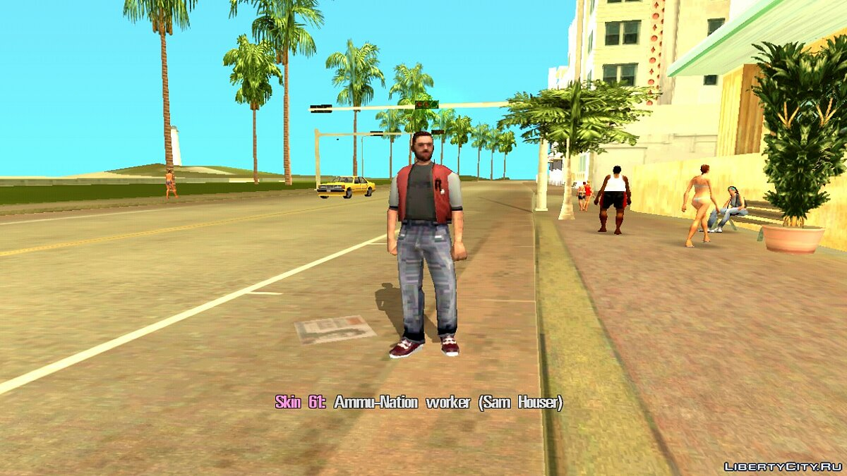 Skin Selector для GTA Vice City (Android) для GTA Vice City (iOS, Android) - Картинка #13
