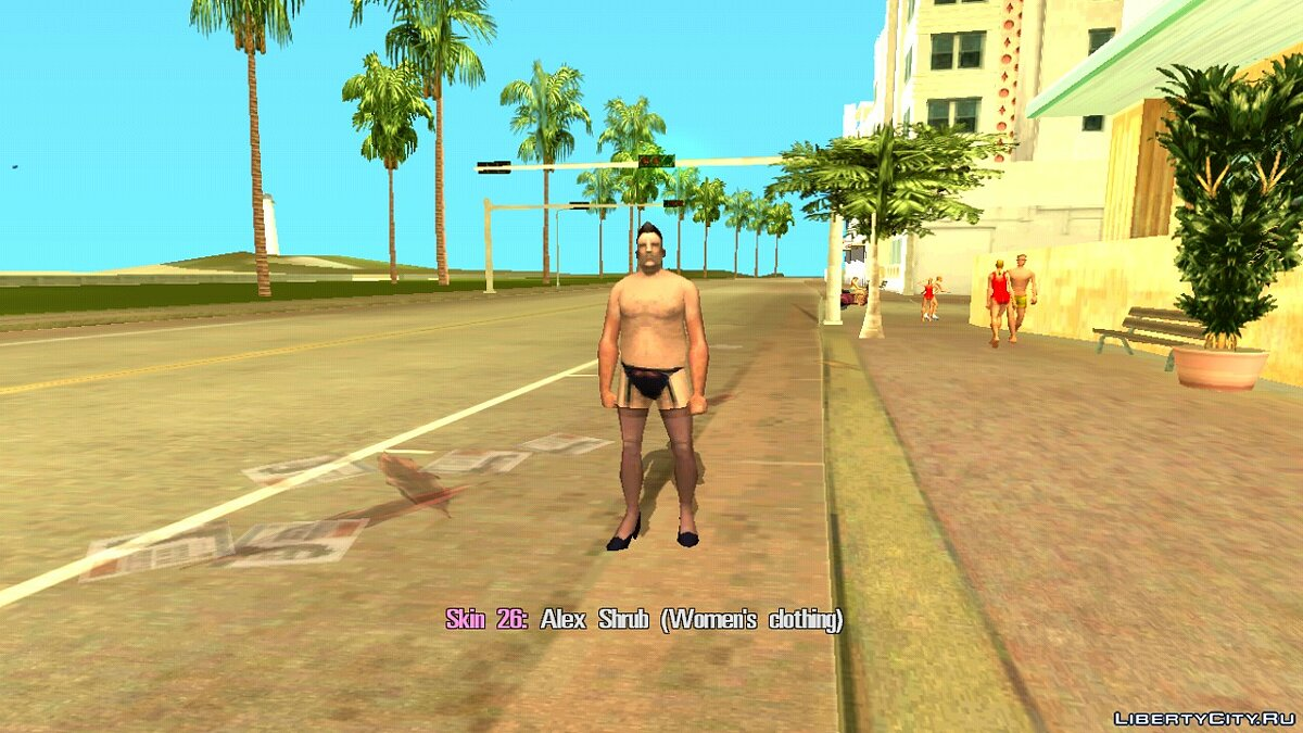Skin Selector для GTA Vice City (Android) для GTA Vice City (iOS, Android) - Картинка #19