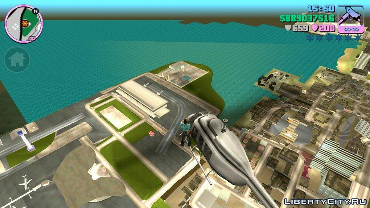 CLEO скрипт Heli Limit Mod Android для GTA Vice City (iOS, Android)