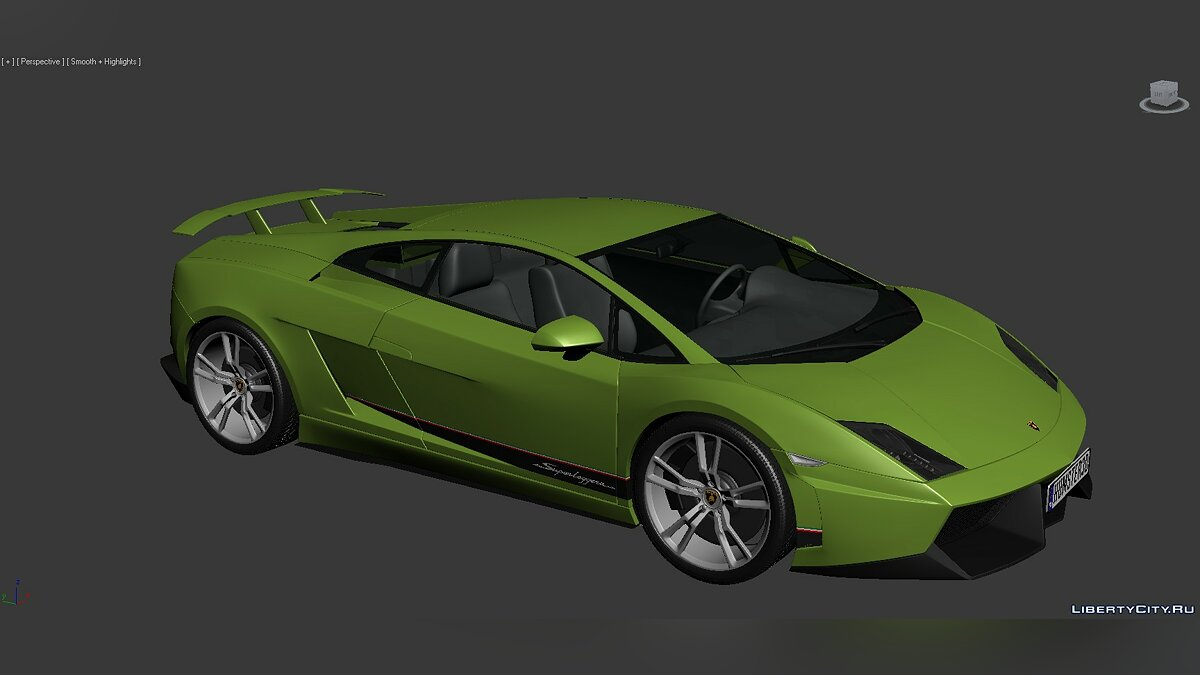 3D Models Lamborghini Gallardo LP570-4 Superleggera 2011 для модмейкерів - Картинка #1