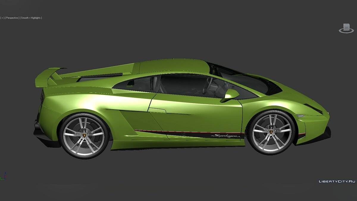 3D Models Lamborghini Gallardo LP570-4 Superleggera 2011 для модмейкерів - Картинка #5
