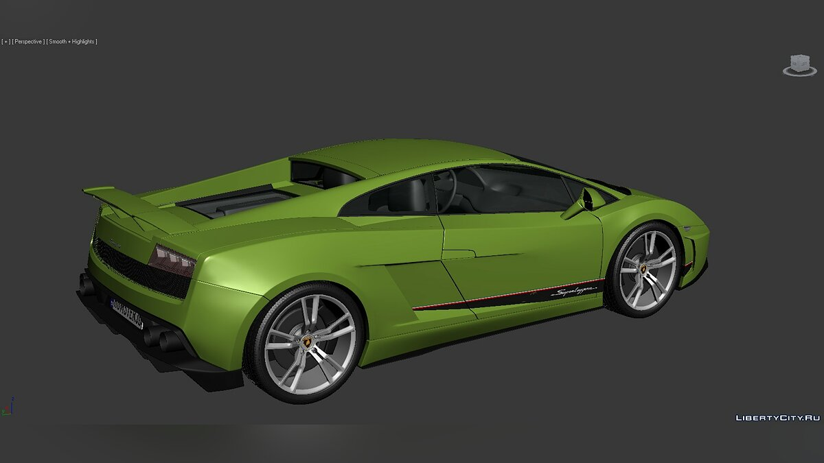 3D Models Lamborghini Gallardo LP570-4 Superleggera 2011 для модмейкерів - Картинка #6